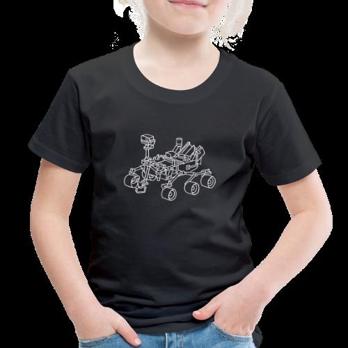 Curiosity, the Marsrover - Toddler Premium T-Shirt