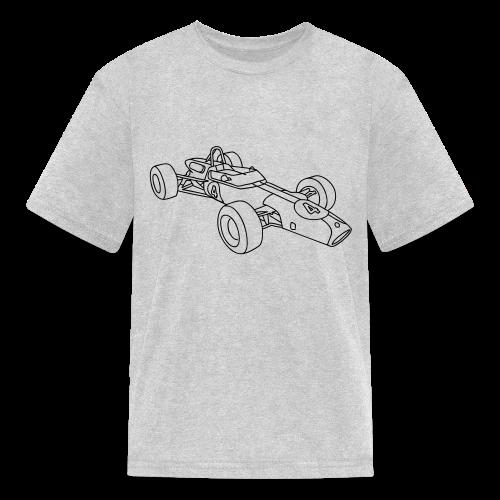 Racecar / racing car - Kids' T-Shirt
