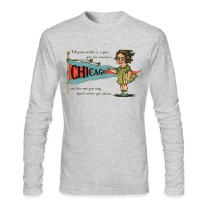 Early 1900's Postcard - Men's Long Sleeve T-Shirt by Next Level