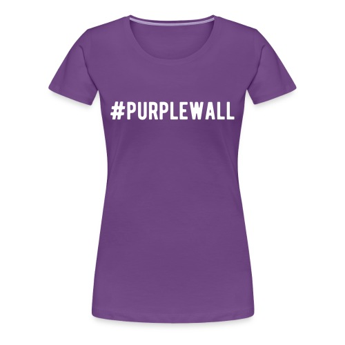 Purple Wall v1 - Women's Premium T-Shirt