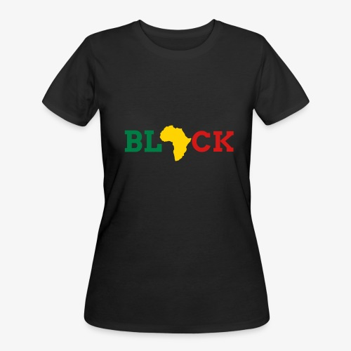 BLACK - Women's 50/50 T-Shirt