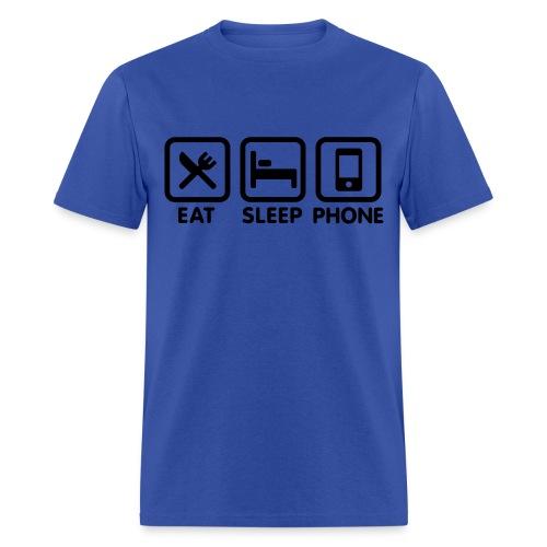 Eat Sleep Phone - Men's T-Shirt