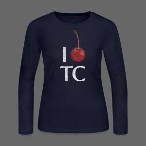 I Cherry TC - Women's Long Sleeve Jersey T-Shirt