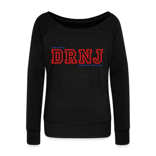 Dominican Republic  - Women's Wideneck Sweatshirt