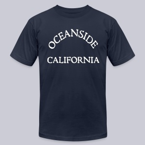 Oceanside California - Men's T-Shirt by American Apparel