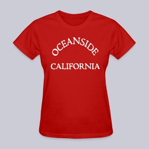 Oceanside California - Women's T-Shirt