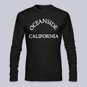 Oceanside California - Men's Long Sleeve T-Shirt by Next Level