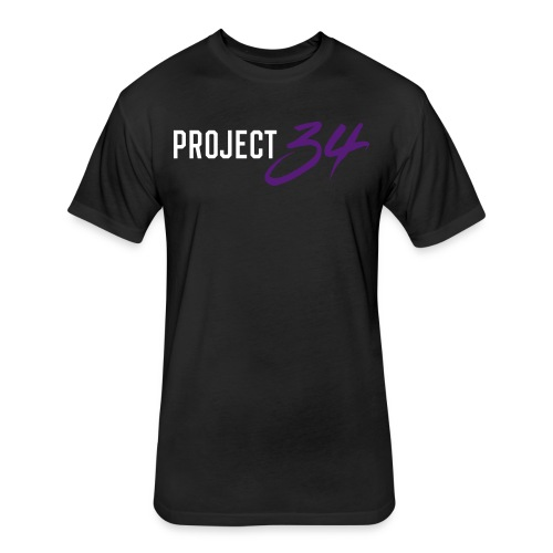 Project 34 - Denver - Fitted Cotton/Poly T-Shirt by Next Level
