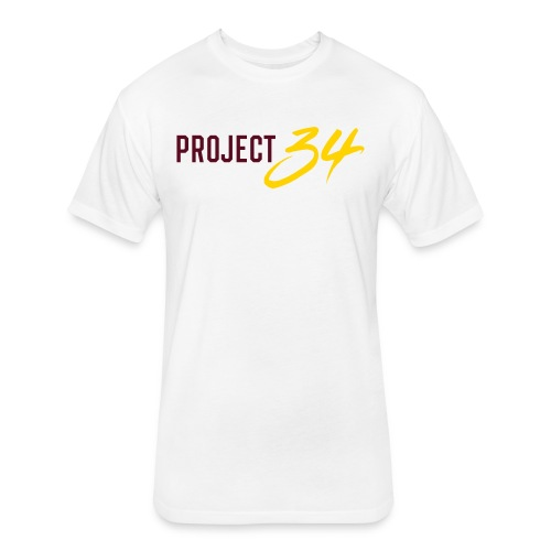 Project 34 - Tempe - Fitted Cotton/Poly T-Shirt by Next Level
