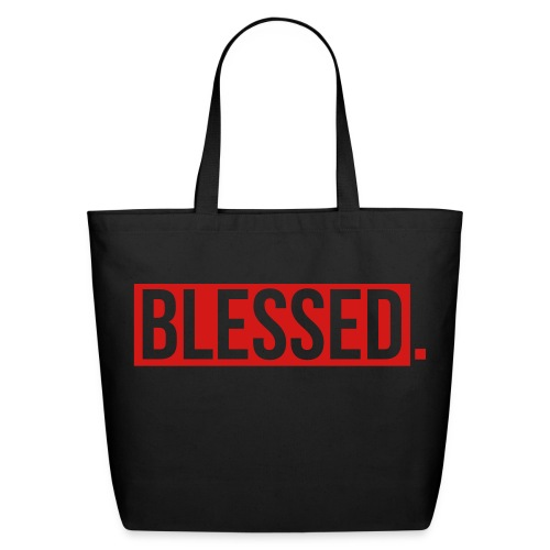 Blessed Tote Bag - Eco-Friendly Cotton Tote