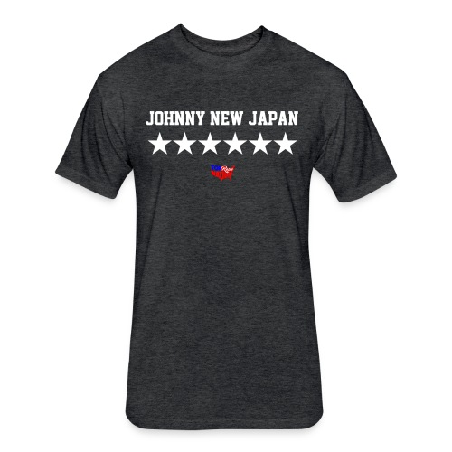 Johnny New Japan Shirt - Fitted Cotton/Poly T-Shirt by Next Level