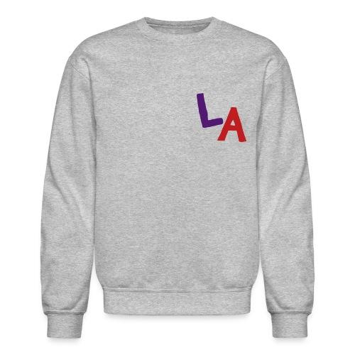 LA Sweatshirt (Velvet Print) - Crewneck Sweatshirt