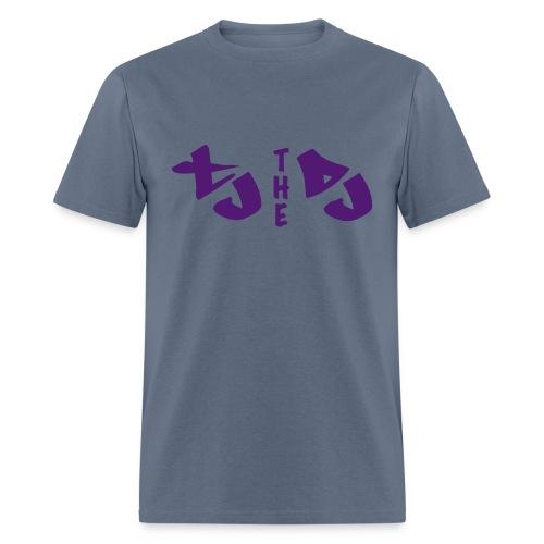 TJ THE DJ (Velvety) - Men's T-Shirt