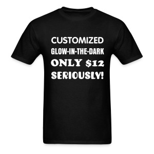 Custom Glow - Men's T-Shirt