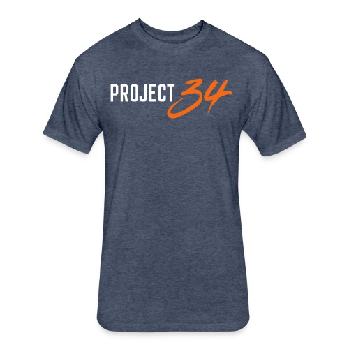 Project 34 - Houston - Fitted Cotton/Poly T-Shirt by Next Level
