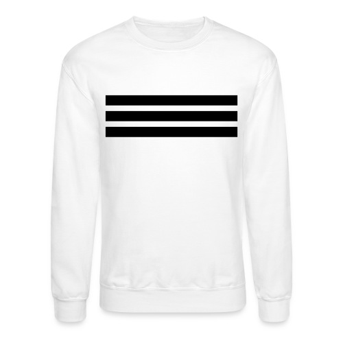 Black (Velvety) Logo Crewneck Sweatshirt - Crewneck Sweatshirt