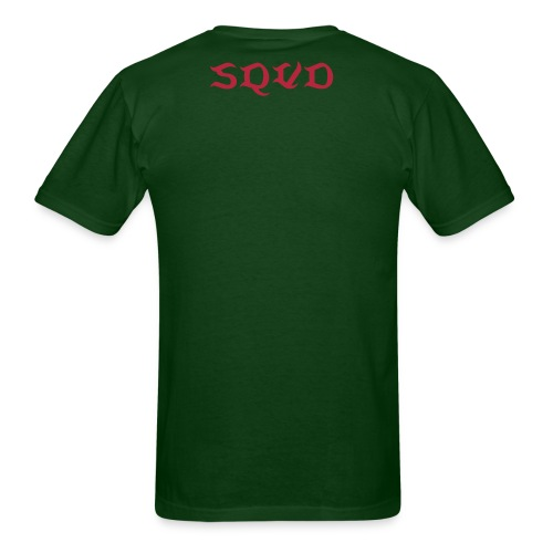 Red Logo BOOST SQVD T-Shirt - Men's T-Shirt