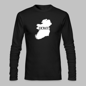 Ireland Home - Men's Long Sleeve T-Shirt by Next Level