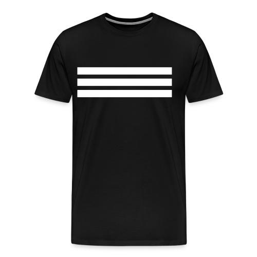 White logo BOOST SQVD x3 T-Shirt - Men's Premium T-Shirt