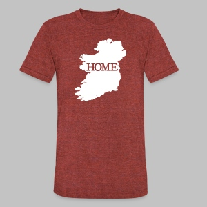 Ireland Home - Unisex Tri-Blend T-Shirt by American Apparel