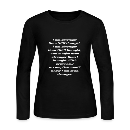 MS Walk 2013 - Women's Long Sleeve Jersey T-Shirt
