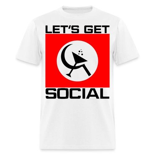 Axl Rose 'Let's Get Social' T-shirt - Men's T-Shirt