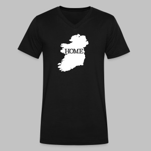 Ireland Home - Men's V-Neck T-Shirt by Canvas