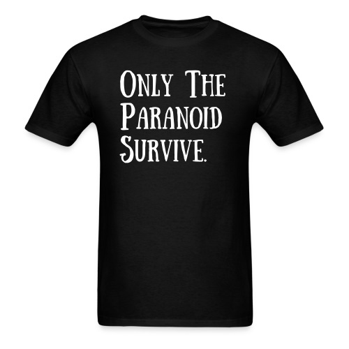 Slash 'Only The Paranoid Survive' t-shirt - Men's T-Shirt