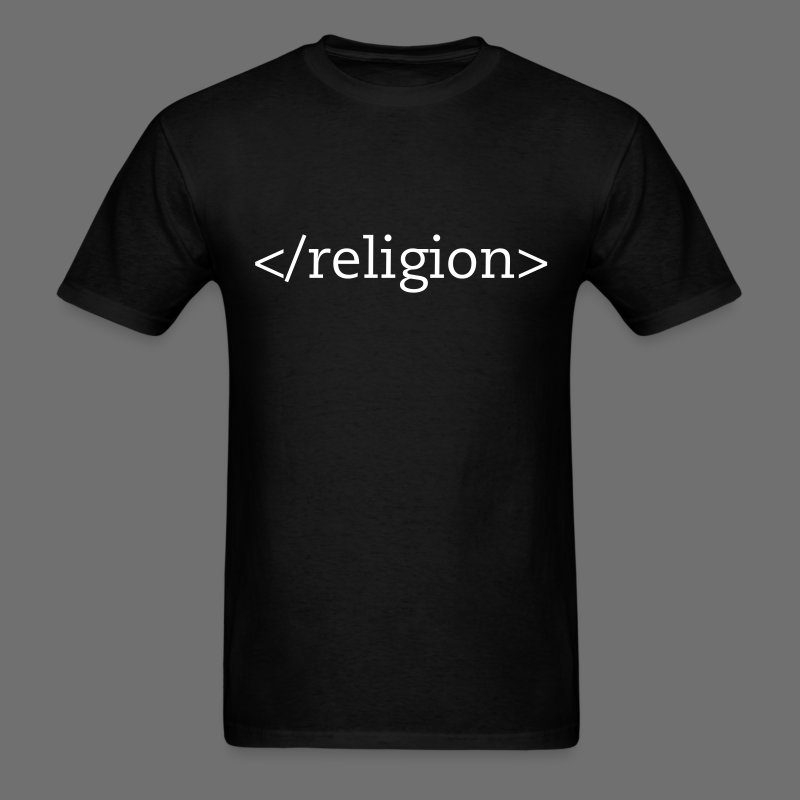 End Religion t-shirt - Men's T-Shirt