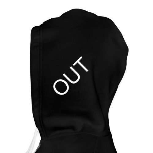 In one Ear Out the other - Unisex Fleece Zip Hoodie