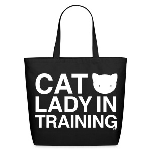 Cat Lady in Training - Eco-Friendly Cotton Tote