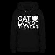 Hoodies ~ Women's Hoodie ~ Cat Lady of the Year