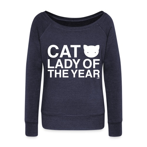 Cat Lady of the Year - Women's Wideneck Sweatshirt