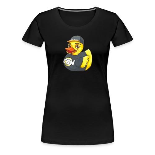AnthonyCSN Duck Logo - Women's Premium T-Shirt