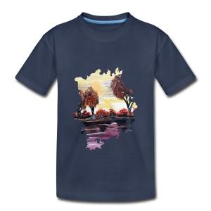 Autumn Sundown - Toddler Premium T-Shirt