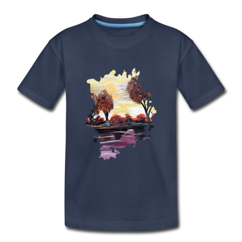 Autumn Sundown - Kids' Premium T-Shirt