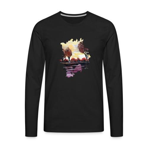 Autumn Sundown - Men's Premium Long Sleeve T-Shirt