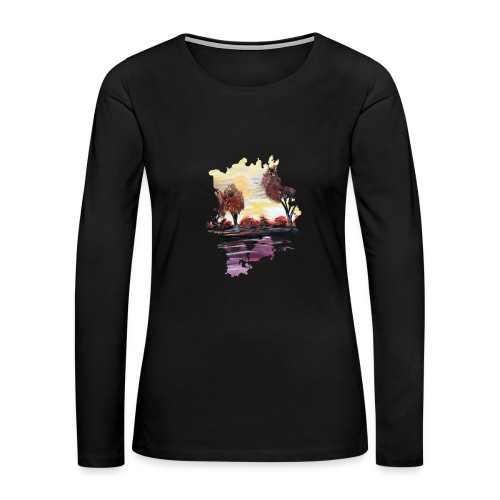 Autumn Sundown - Women's Premium Long Sleeve T-Shirt