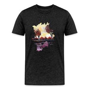 Autumn Sundown - Men's Premium T-Shirt