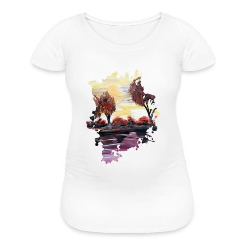 Autumn Sundown - Women's Maternity T-Shirt