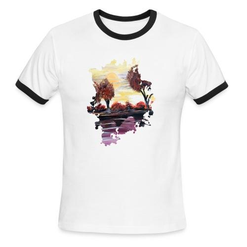 Autumn Sundown - Men's Ringer T-Shirt