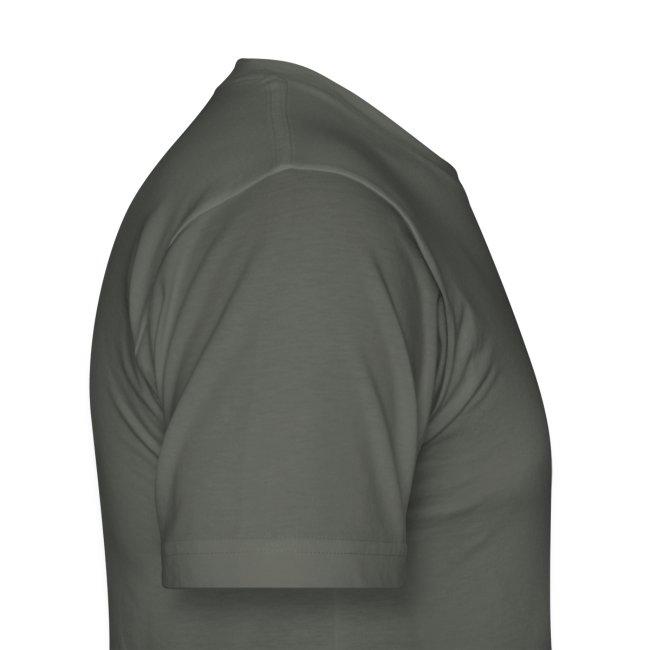 Men's White taiji logo
