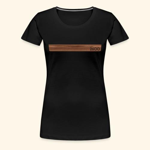 wood2600 - Women's Premium T-Shirt