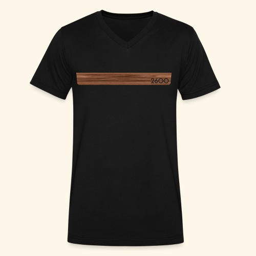 wood2600 - Men's V-Neck T-Shirt by Canvas