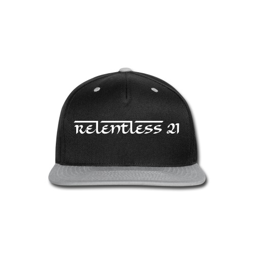 Relentless Hat - Snap-back Baseball Cap