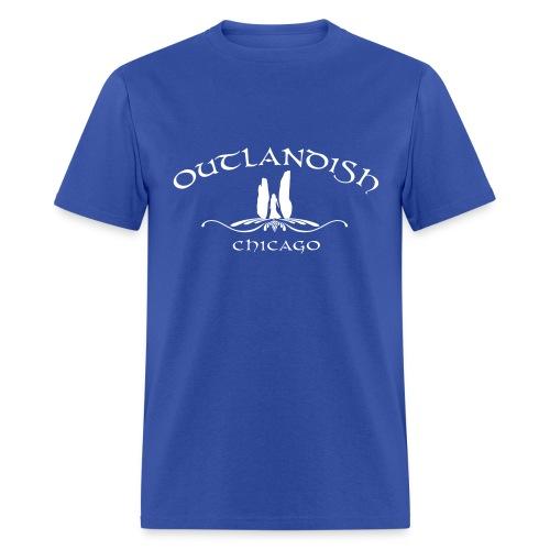Men's T-shirt OC Blue - Men's T-Shirt