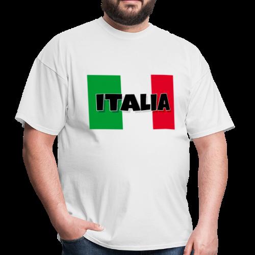 ITALIA - Flag of Italy T-Shirt - Men's T-Shirt