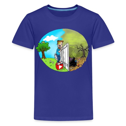 FUNnel Vision THE OTHER SIDE (Kid's) - Kids' Premium T-Shirt
