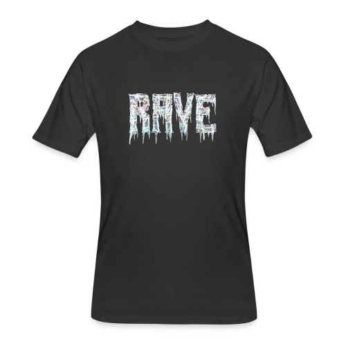 Rave Bro - Men's 50/50 T-Shirt