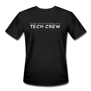 Tech Crew Shirt (Moisture Wicking) - Men's Moisture Wicking Performance T-Shirt
